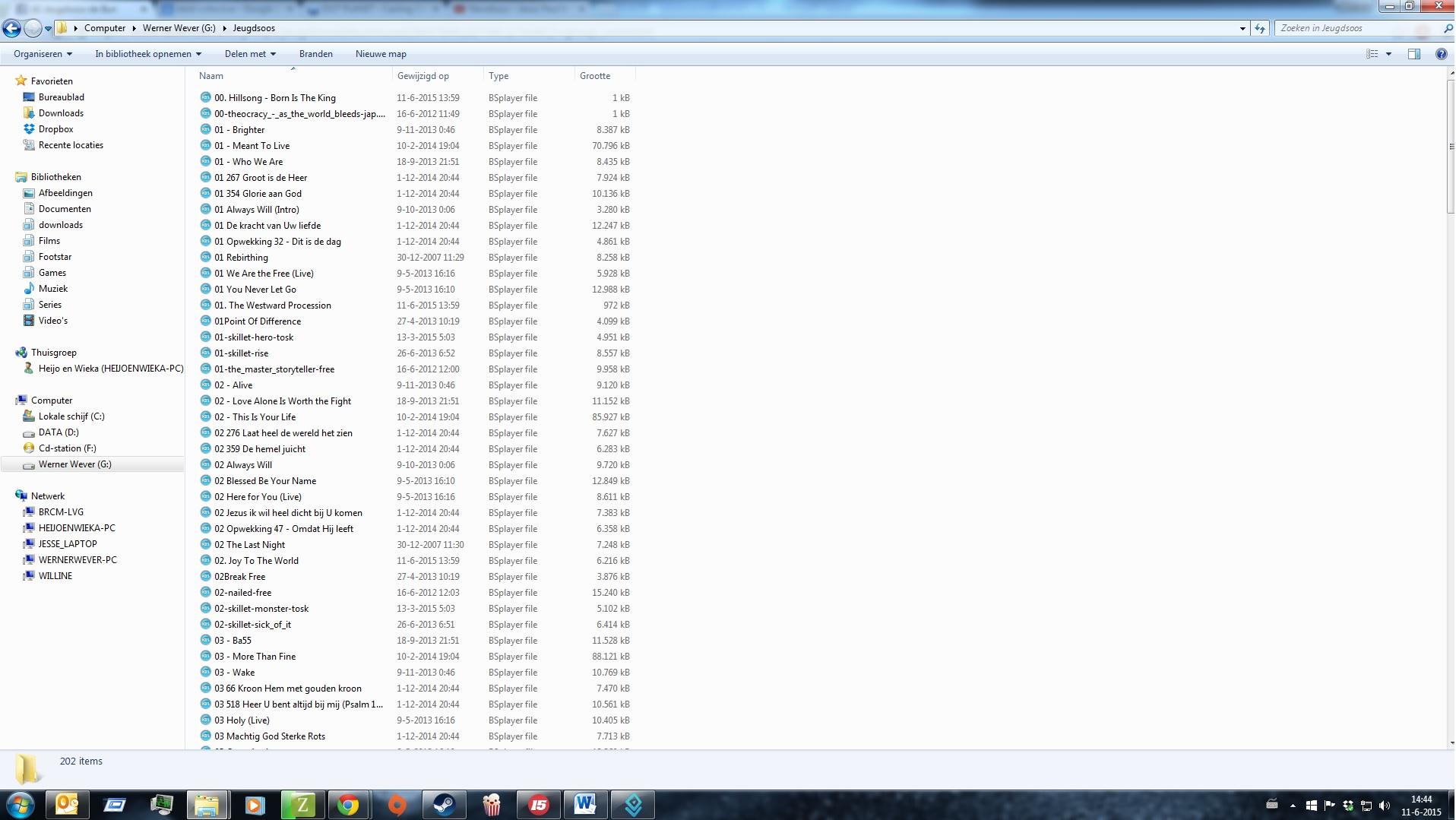 muzieklijst